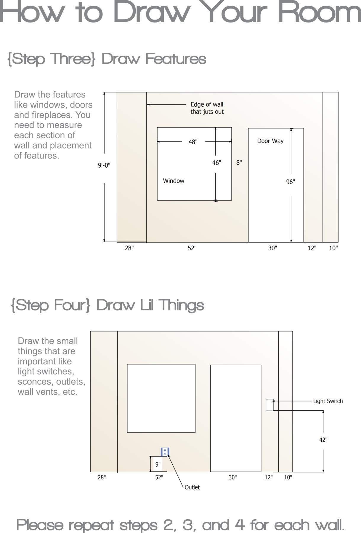 How to measure a room stellar interior design for Design a room online free with measurements