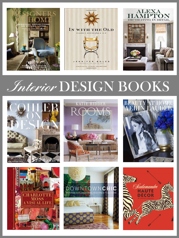 24 creative books on interior design