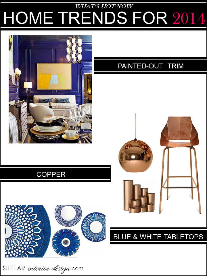 Home Decorating Trends 2014 | Stellar Interior Design