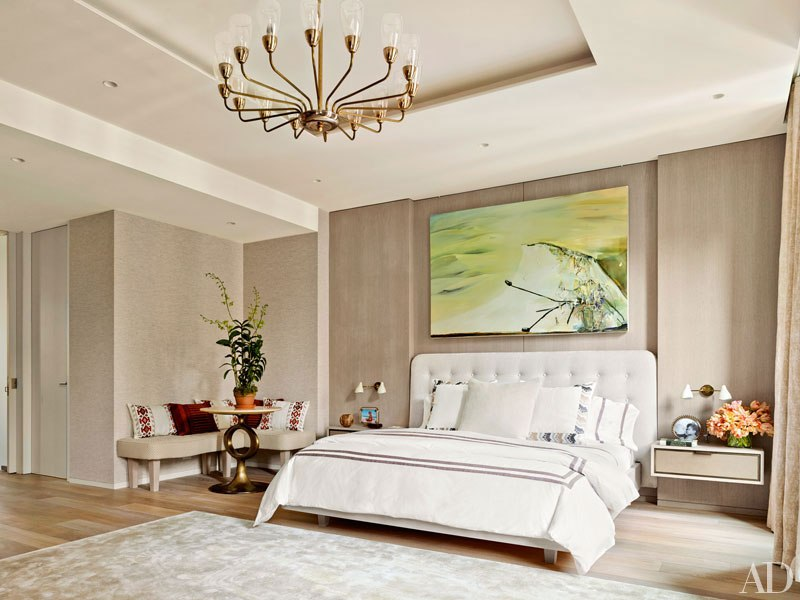 The master bedroom is soothing and warm with much light. I appreciate ...