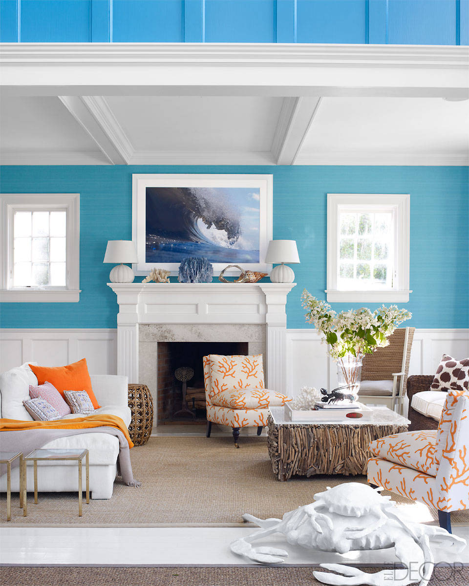 Beach house decor stellar interior design for A living room design