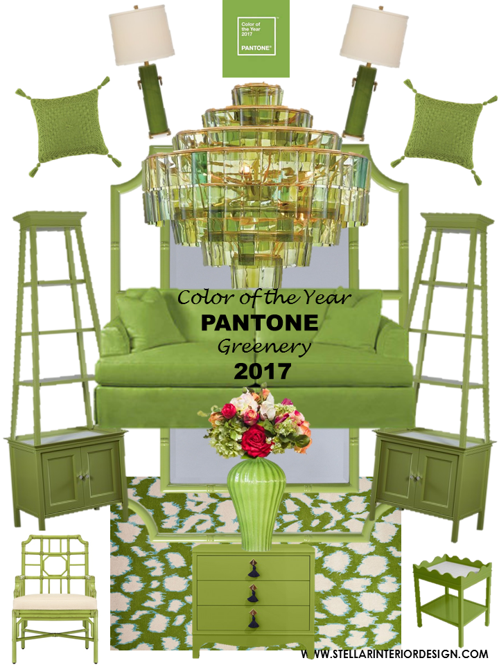 Pantone color of the year 2017 stellar interior design - 2017 pantone view home interiors palettes ...