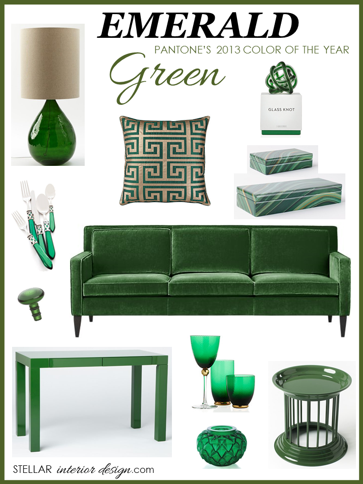 emerald green home decor   stellar interior design