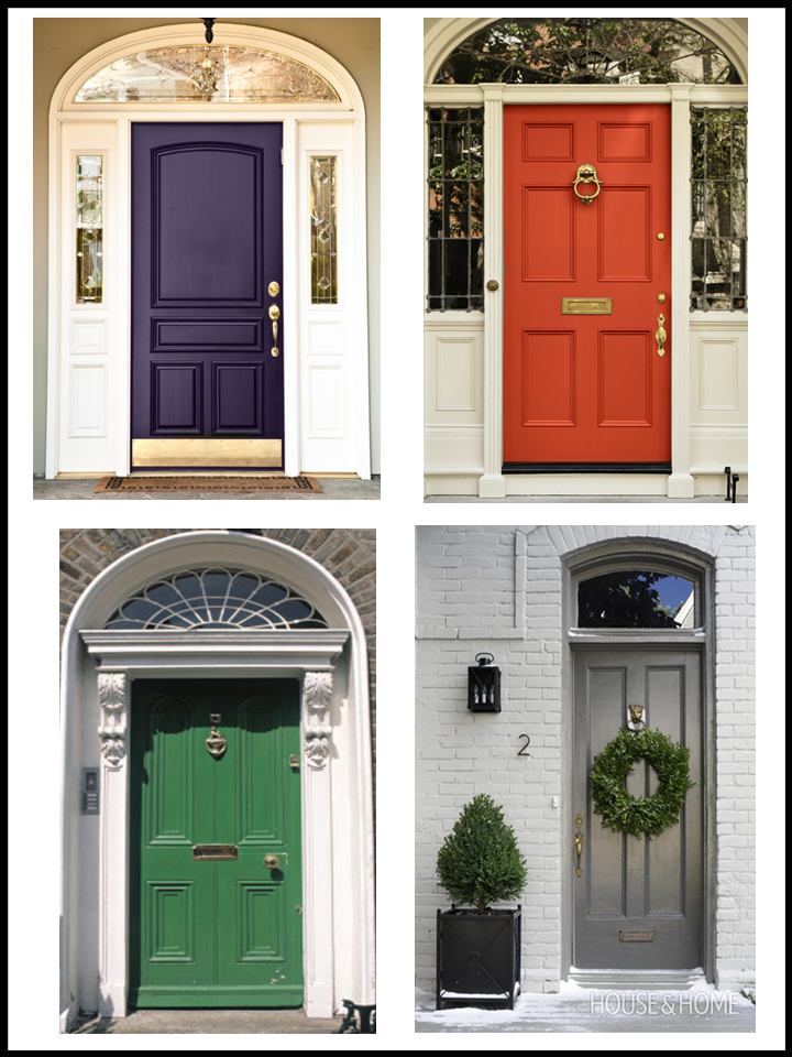 Front door styles bold front door colors images white for Front door styles