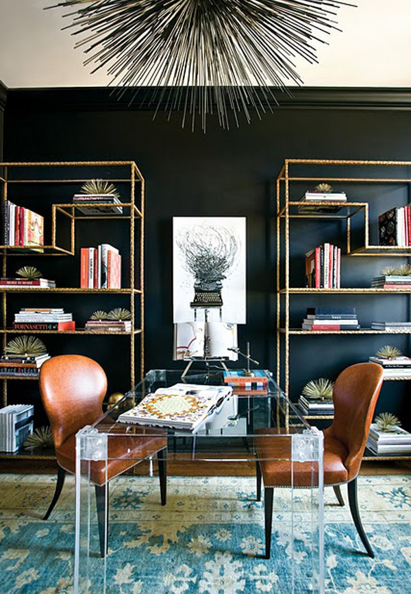 Decorating with Dark Wall Colors - Stellar Interior Design