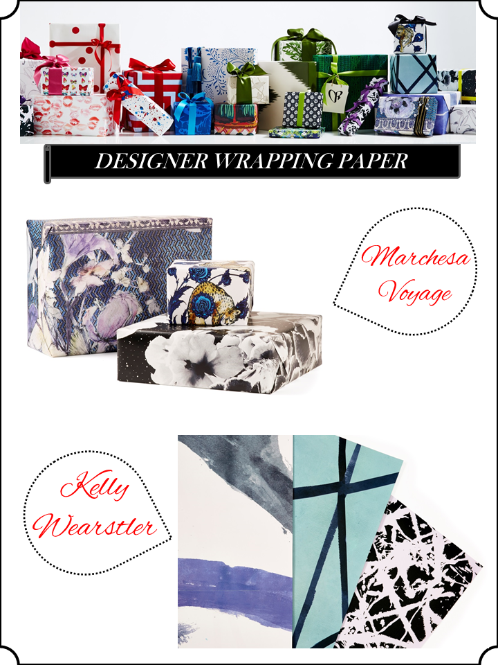 Holiday gift wrap stellar interior design for Christmas gifts for interior designers