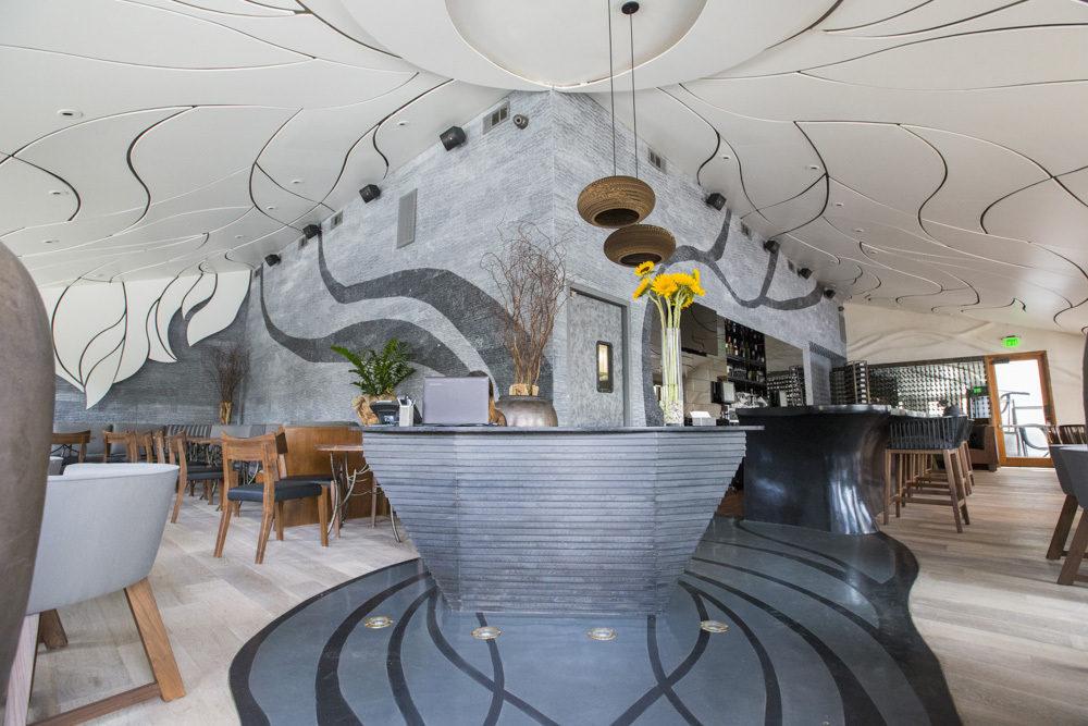 Girasol restaurant studio city stellar interior design