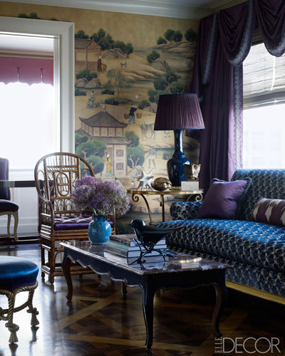 02 Alex Papachristidis Home 1112 Lgn Living Room In Gorgeous Jewel Tones