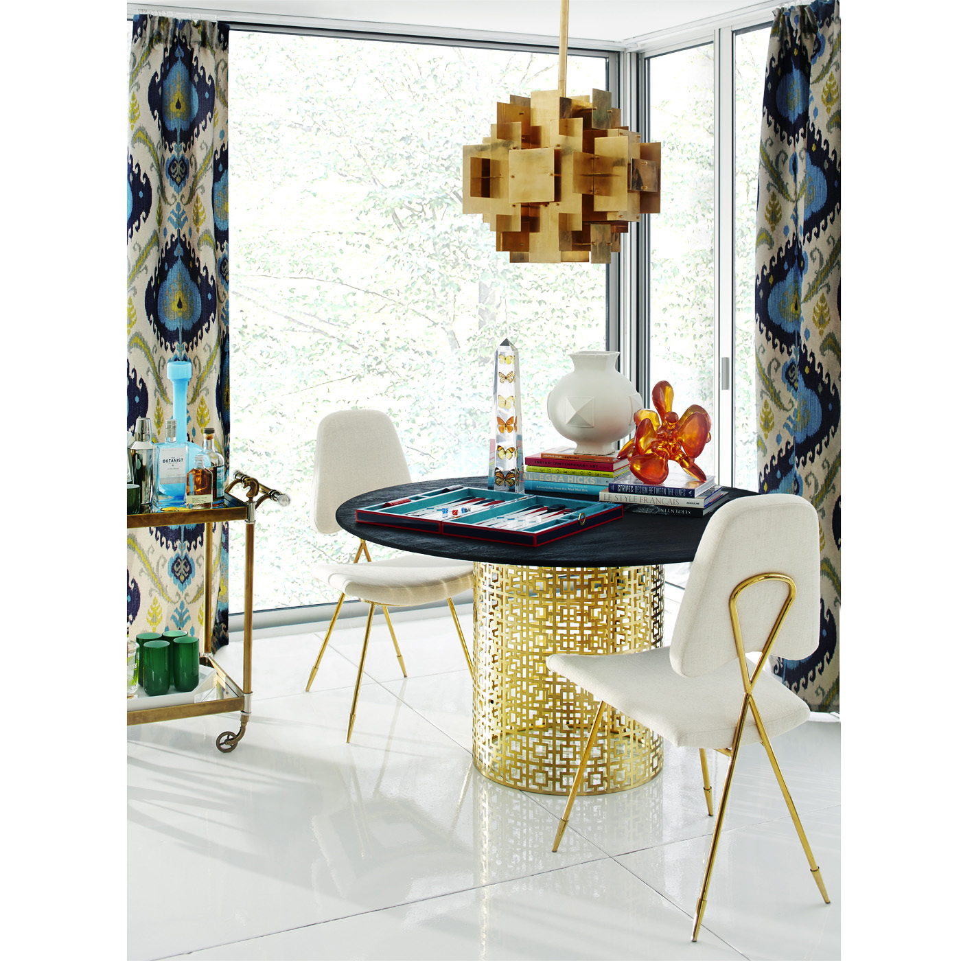 Interior design services or online e design please visit my website - Jonathan Adler Spring 2014 Stellar Interior Design