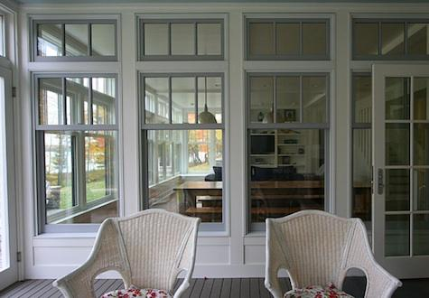 Painted Window Frames - Stellar Interior Design