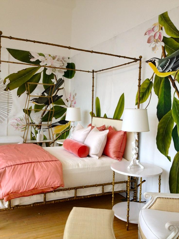 Tropical Palm Leaf Decor - Stellar Interior Design