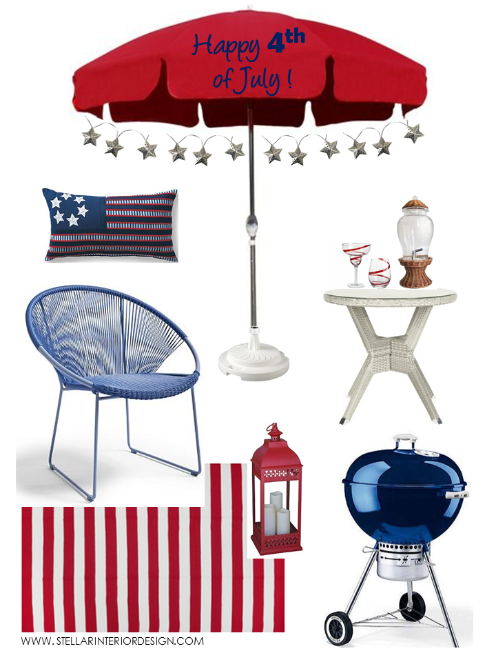 4th of July Home Decor Ideas Stellar Interior Design