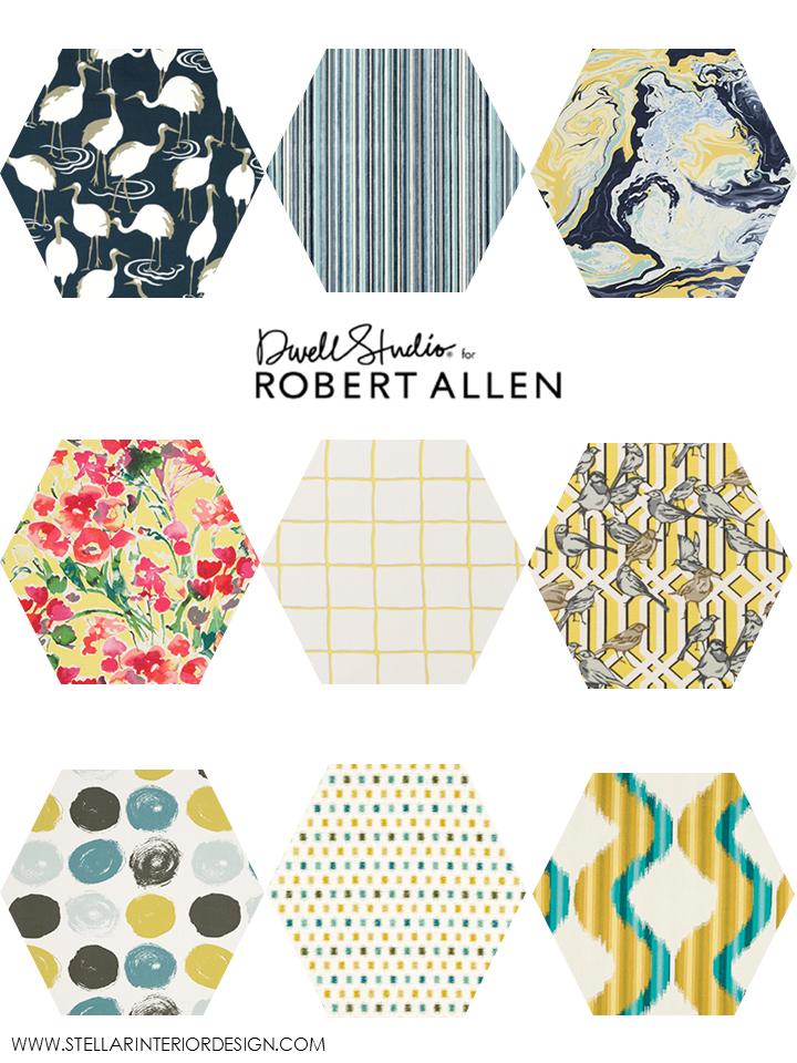 Dwell Studio Fabrics Stellar Interior Design