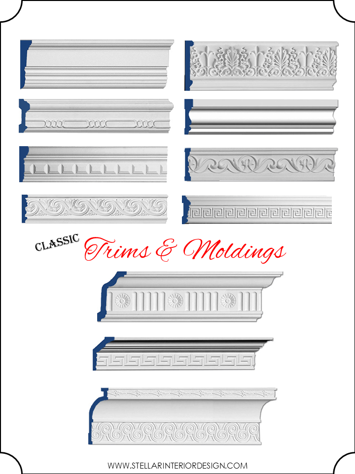 Molding And Trim Styles Stellar Interior Design