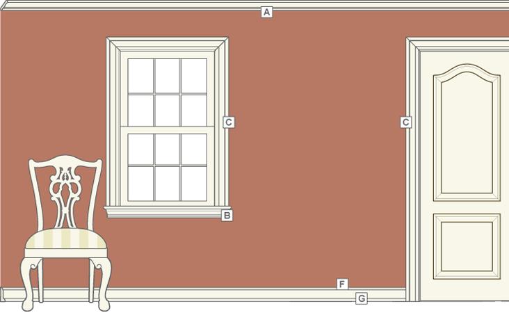 Interior Window Trim Styles : Molding and trim styles stellar interior design