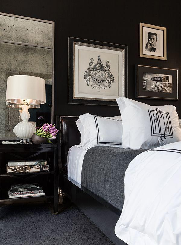 Room Design Black And White: Stellar Interior Design