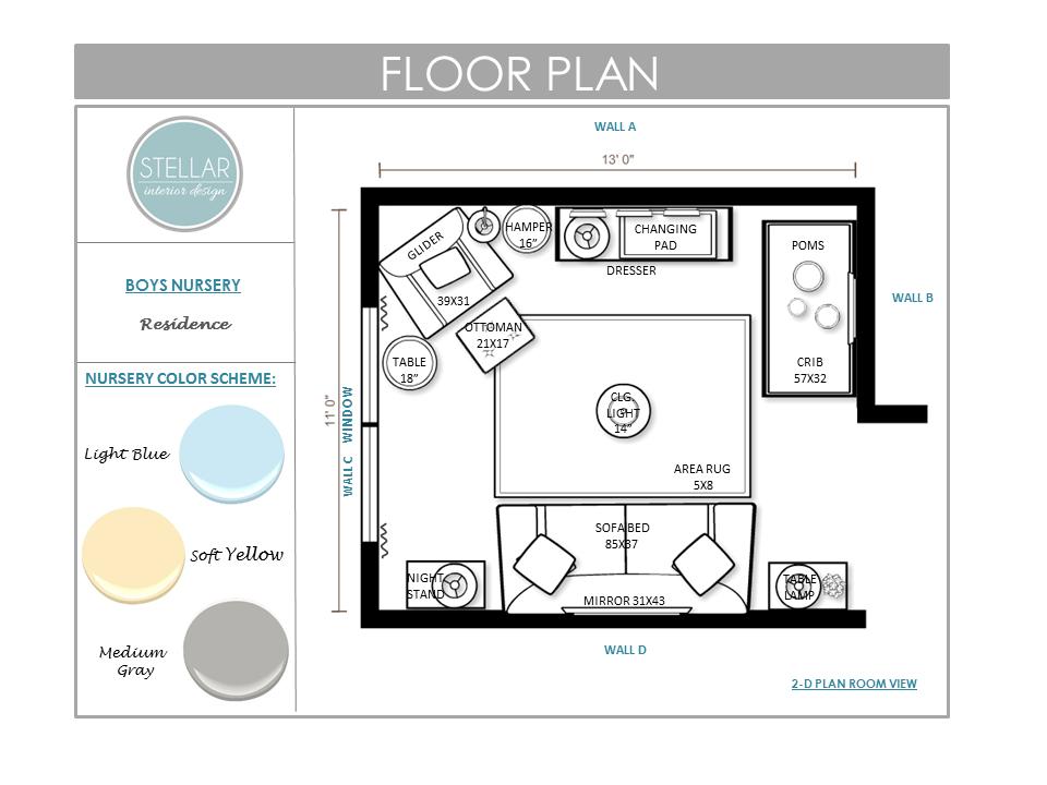 E Design Interior Design Pleasing Nursery Edesign  Stellar Interior Design Decorating Inspiration