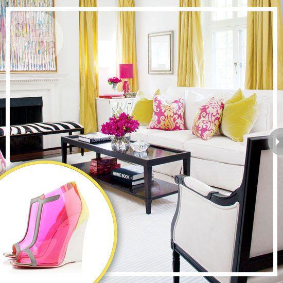 Fashion Home Decor Pink