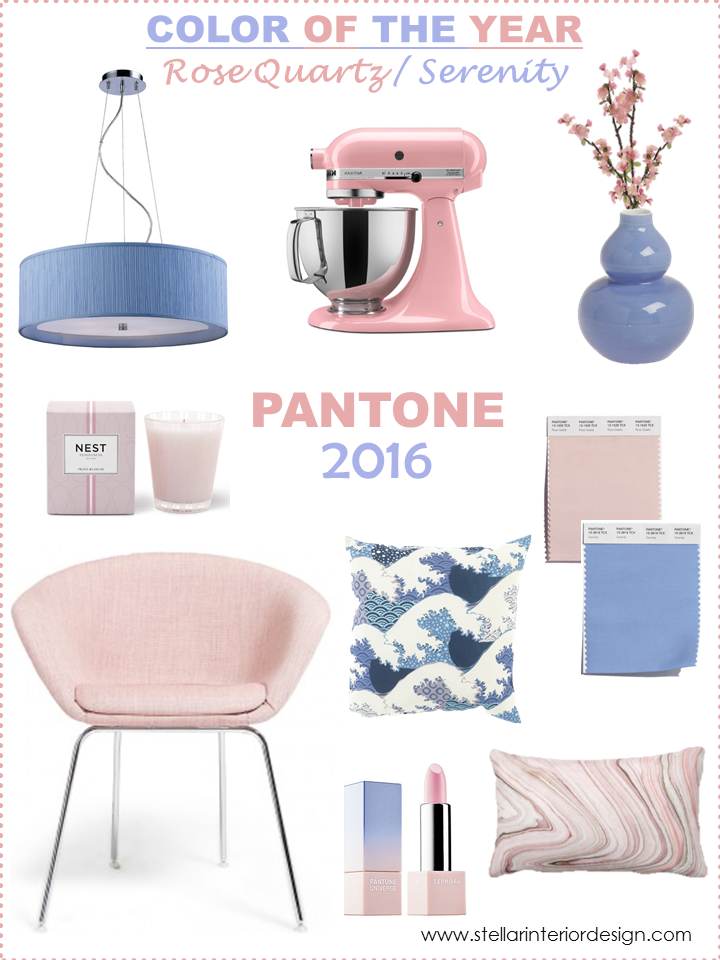 Pantone Color of the Year 2016-Stellar Interior Design