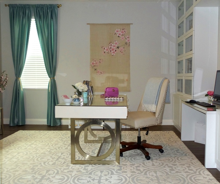 21 Feminine Home Office Designs Decorating Ideas: Best Home Decor Blogs- Stellar Interior Design