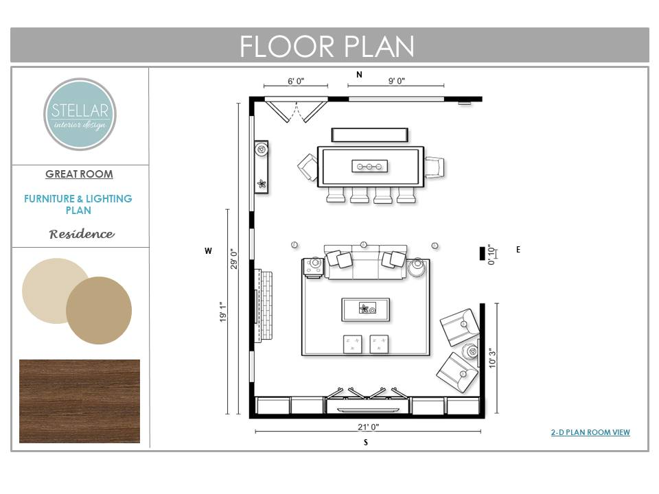 Superb The Floorplan: The New Layout Removed The Wall In Between The Dining Table  And Sofa To Create An Open Concept For A Great Room With Better Flow. The  Design ...