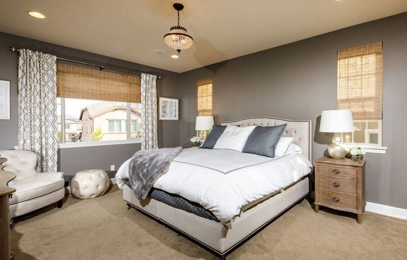 The Client Did A Great Job Implementing The Overall Design To Completion.  Client Master Bedroom Reveal