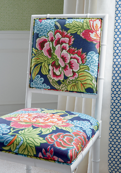 Honshu pattern comes in both fabric and wallpaper